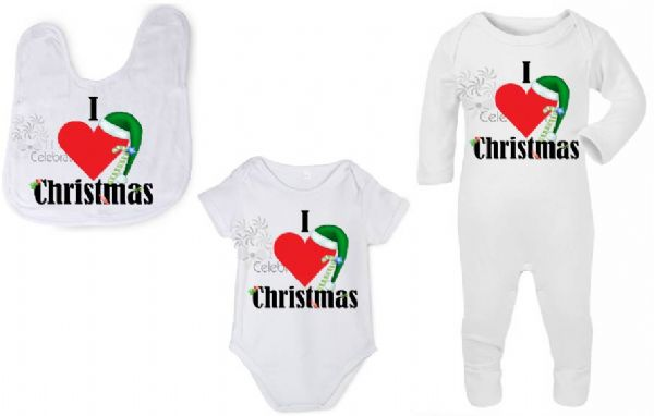 I Heart Christmas Personalised Gift Set